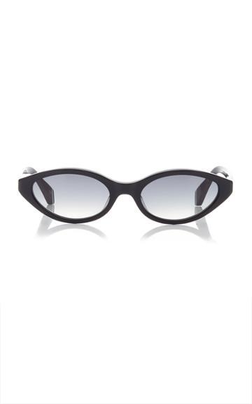 Kaleos Eyehunters Sharon Cat-eye Acetate Sunglasses