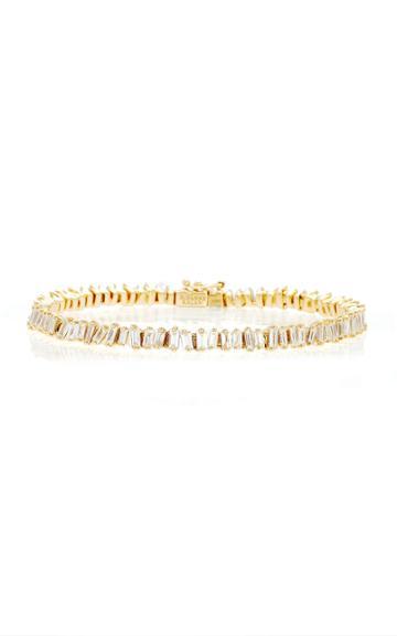 Moda Operandi Suzanne Kalan 18k Yellow Gold Tennis Bracelet