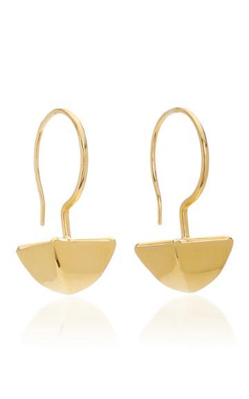 Christina Alexiou Big Pyramid Earrings