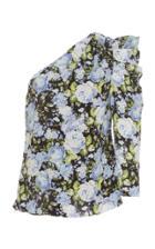 Les Reveries One Shoulder Silk Top