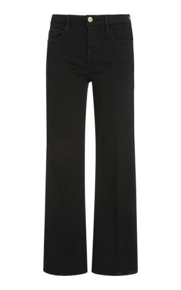 Frame Denim Le Crop Mini Mid-rise Boot Jean