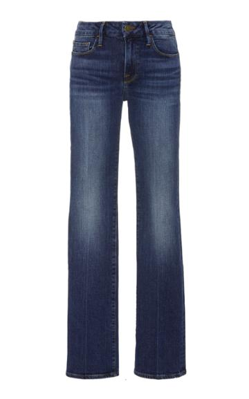 Frame Denim Le Mini Mid-rise Bootcut Jeans