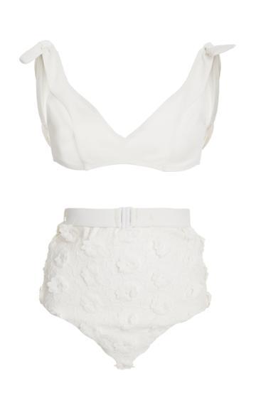 Zimmermann Lumino Daisy Tie Bikini Set