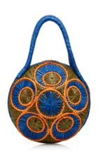 Sophie Anderson Saba Raffia Shoulder Bag