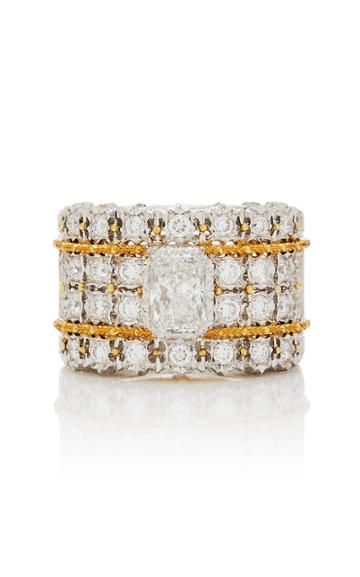 Vintage Buccellati One-of-a-kind Diamond Scroll Ring