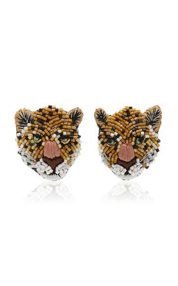 Moda Operandi Mignonne Gavigan Leopard Stud