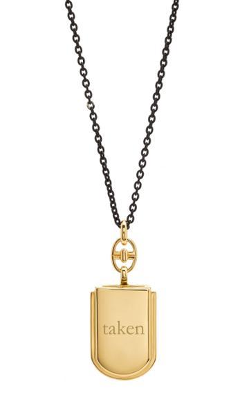 Monica Rich Kosann Custom Horseshoe Locket 32 Necklace