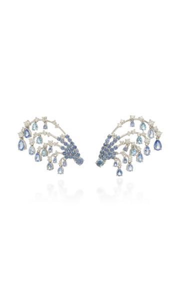 Hueb Oceanum Aquamarine Earrings