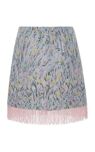Vivetta Meda Floral Mini Skirt
