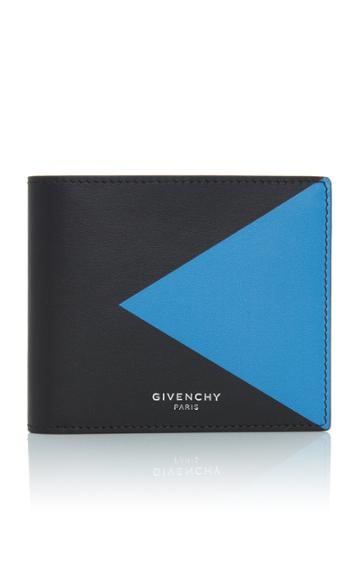 Givenchy Color-blocked Leather Wallet