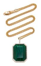 Mateo 18k Gold, Diamond And Stone Necklace