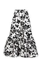 Bambah Seville Velvet Midi Skirt