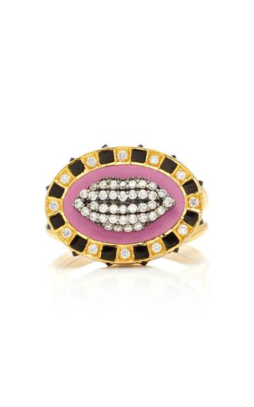 Holly Dyment Glam Lips Ring