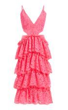 Moda Operandi Kalmanovich Lace Cut-out Midi Dress Size: 0