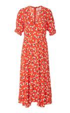 Faithfull Ari Floral Midi Dress