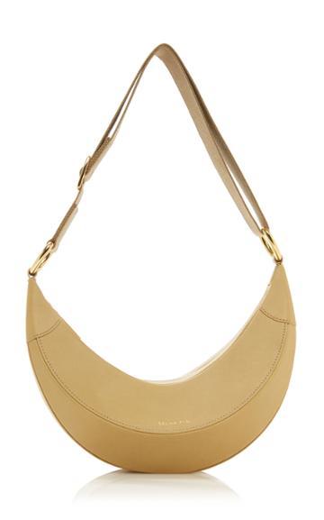 Moda Operandi Rejina Pyo Banana Leather Shoulder Bag