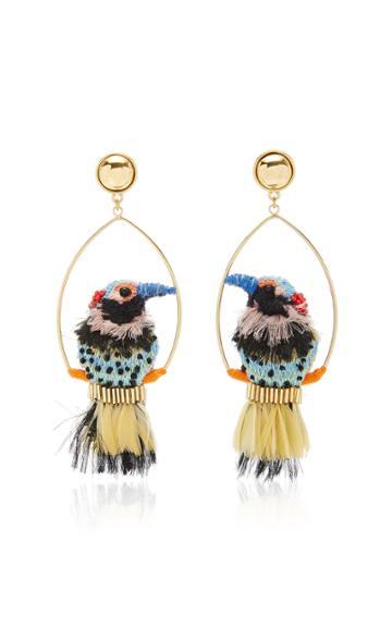Moda Operandi Mignonne Gavigan Woodpecker Swing Earring