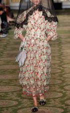 Simone Rocha Lace Tulle Full Midi Dress
