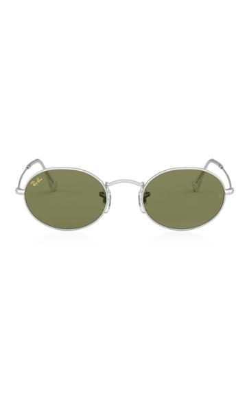Ray-ban Icons Round-frame Metal Sunglasses