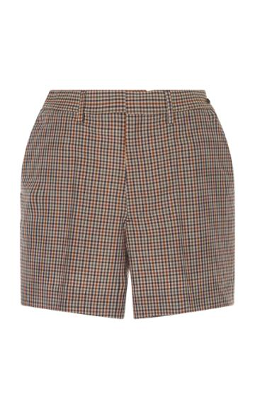 Maison Margiela Micro Check Short
