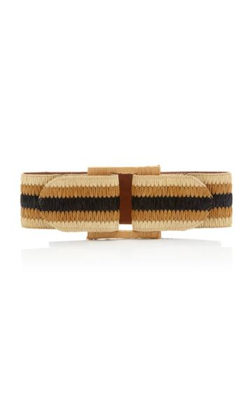 Johanna Ortiz Byblos Woven Leather Belt