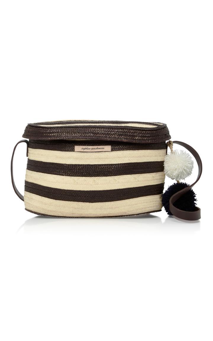 Sophie Anderson Ana Woven Raffia Shoulder Bag