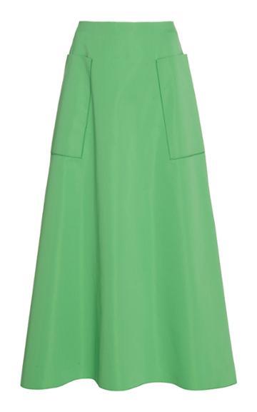 Cyclas Side Pocket Cotton-blend Skirt