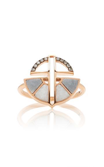 Ioanna Souflia Marble Ring