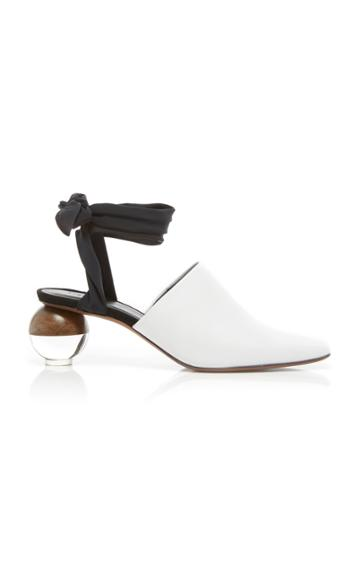 Neous Brough Tied Leather Mules