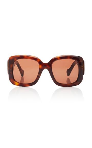 Balenciaga Paris Logo Square-frame Acetate Sunglasses