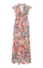 Banjanan Constance Printed Vneck Maxi Dress