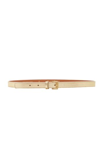 Maison Boinet Metallic Leather Belt