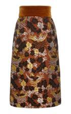 Jill Stuart Coco Phoenix Jacquard Skirt