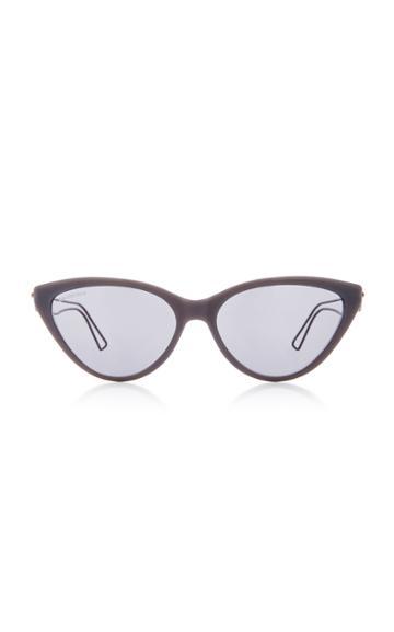 Balenciaga Inception Cat-eye Acetate Sunglasses
