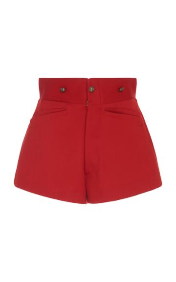 Maison Margiela High Waisted Riding Shorts