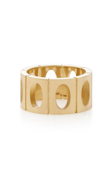 Established 18k Gold Oval Link Ring