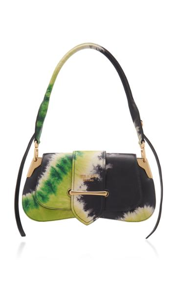 Prada Tie-dye Crocodile Pattina Bag