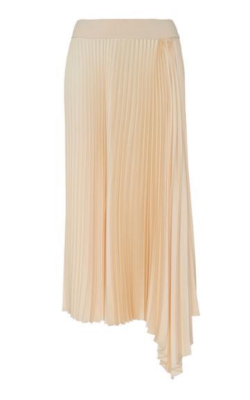 Joseph Sabin Asymmetric Pliss Skirt