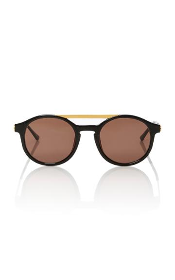 Thierry Lasry Fancy Round-frame Acetate Sunglasses