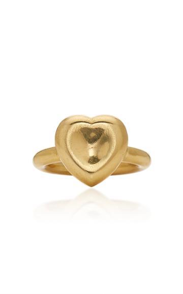Christina Alexiou Single Heart Ring