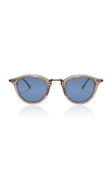 Mr. Leight Stanley S 44 Round-frame Acetate Sunglasses