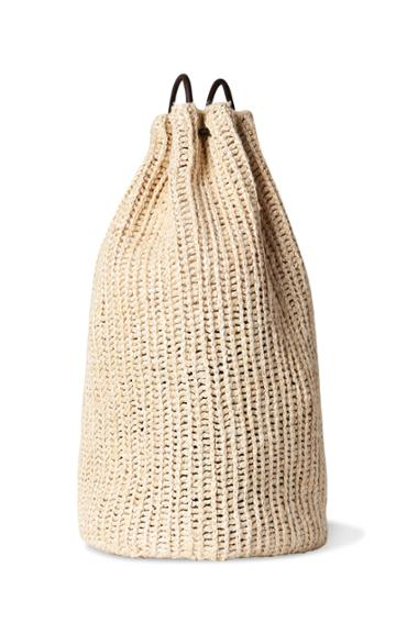 Moda Operandi The Row Massimo Woven Backpack
