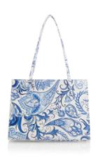Moda Operandi Maryam Nassir Zadeh Lucia Fleur-printed Leather Top Handle Bag