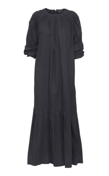 Moda Operandi Birgitte Herskind Herta Pleated Poplin Dress