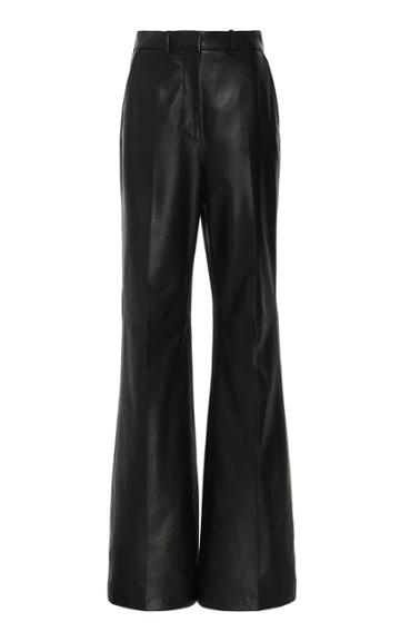 Joseph Tambo High-rise Leather Flared Pants
