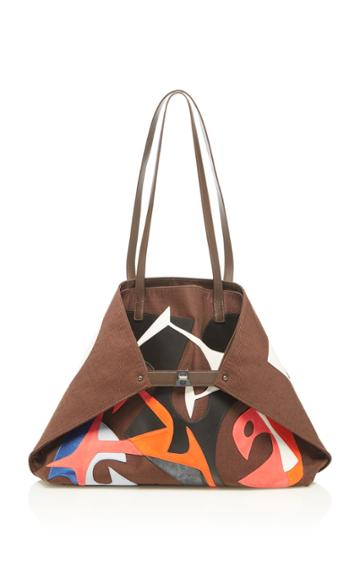 Akris Patchwork Tote