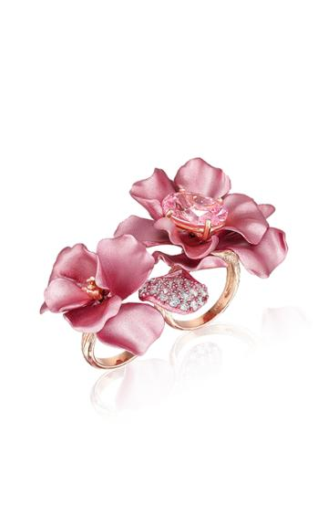 Moda Operandi Anabela Chan Blush Rose Flower Ring