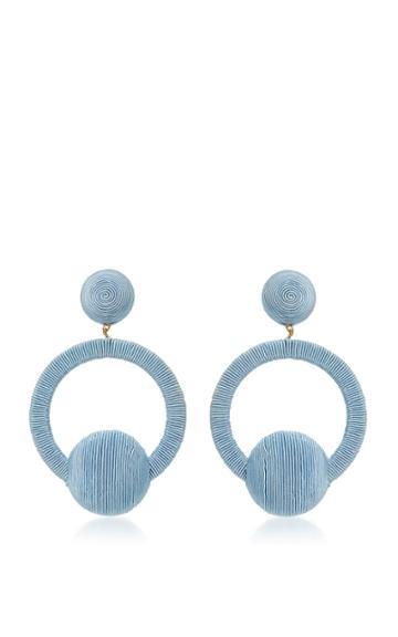 Rebecca De Ravenel Claudia Hoop La La Earrings
