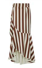 Oscar De La Renta Ruffled Skirt