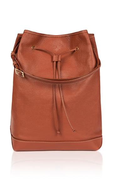 Montunas Leather Backpack